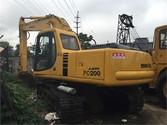 Used Komatsu PC200-6