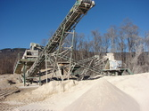 Pozzato Crusher plant tertiary