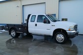 2004 Ford F550 – 9ft Flatbed –