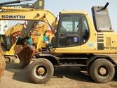 Komatsu PW130ES-6 Wheel excavat
