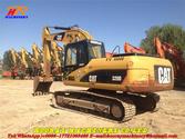 320D used tracked excavator 320