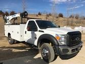 2011 Ford F550 XL – Crane Truck