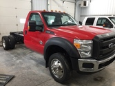 2013 Ford F550 XL – Cab Chassis
