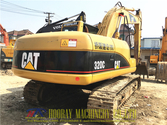 Caterpillar 320C tracked excava
