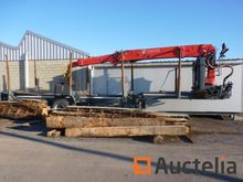2000 Trax Timber carrier with c