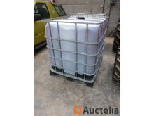 IBC tank mesh + 1000 liters of