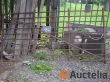 4 Wrought iron barriers