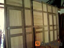 Large woodwork of 6 oak and pop