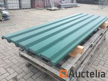 40 Metal roof and facade panels