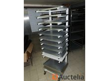 Pastry trolley and trays
