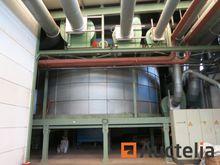 1266 m³ Galvanized sheet metal
