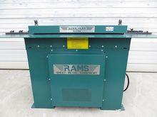 RAMS Sheet Metal Rollformer #29