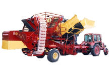 Trailed potato harvester GAC Fe