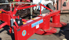 Rotary mower Z-173/1 on the min