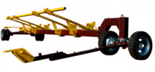 Universal biaxial trolley Carre
