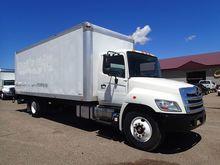 2013 Hino Trucks 268 Van Body