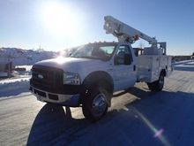 2007 Ford F-450 Altec Manlift B