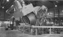 22,000 lb Tilting Rotary Furnac