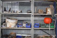 Shelf unit with various materia