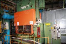 Spiertz 150 ton Press