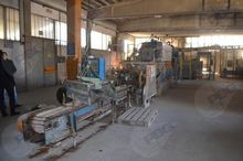 Concrete floor production line