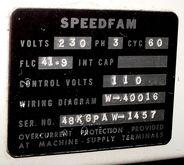 "Used 48"" Dia. Speedf"