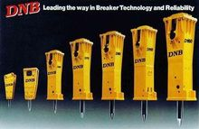 DNB HYDRAULIC ROCK BREAKERS FRO