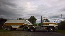1985 DOMETT 2 AXLE BOTTOM DUMPE
