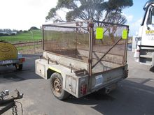 A TULLY SONS BOX TRAILER 6 X 4