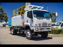 2010 ISUZU FTS800 4x4 Service,