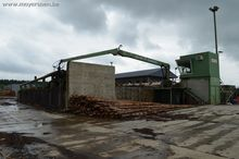 Round timber cutting line, HOLT