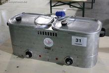 1 dubbele elektrische hotdog ba