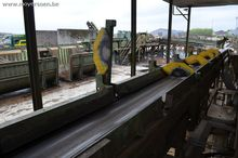 Round timber sorting line, HOLT
