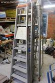 6 div. ladders in aluminium SOL