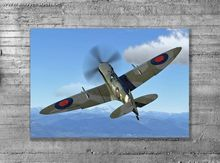 Spitfire MK9    Afmetingen: 600