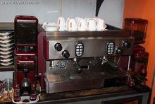1 espresso machine FAEMA, 2 cof