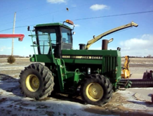John Deere 5830 Forage Harveste