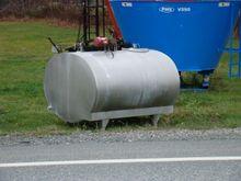 Zero 800 gallons Milk tank (bul
