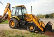 JSB 214 Backhoe loader