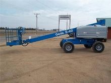 1998 Genie S-40 telescopic load