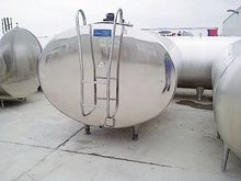 Delaval milk EC Basin (bulktank