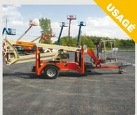 2013 JLG T-350 telescopic loade