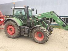 2013 Fendt 714 Tractor