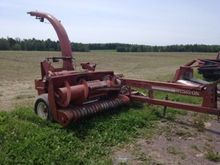 Hesston 7155 Forage Harvester