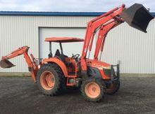 2006 Kioti DK55 Tractor unit