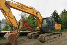 2009 Hyundai 210LC Excavator