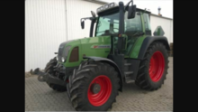 Fendt 411 Tractor