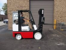 1993 Nissan CPH02A25PV Forklift