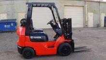 2004 Toyota 7FGCU20 Forklift