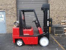 1993 Nissan CPH02A25V Forklift